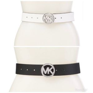 NEW Michael Kors Reversible Logo Belt